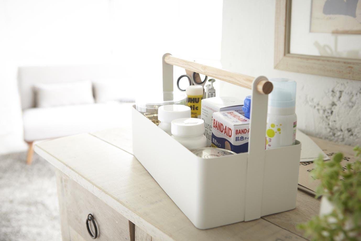 salle de bain minimaliste organisation