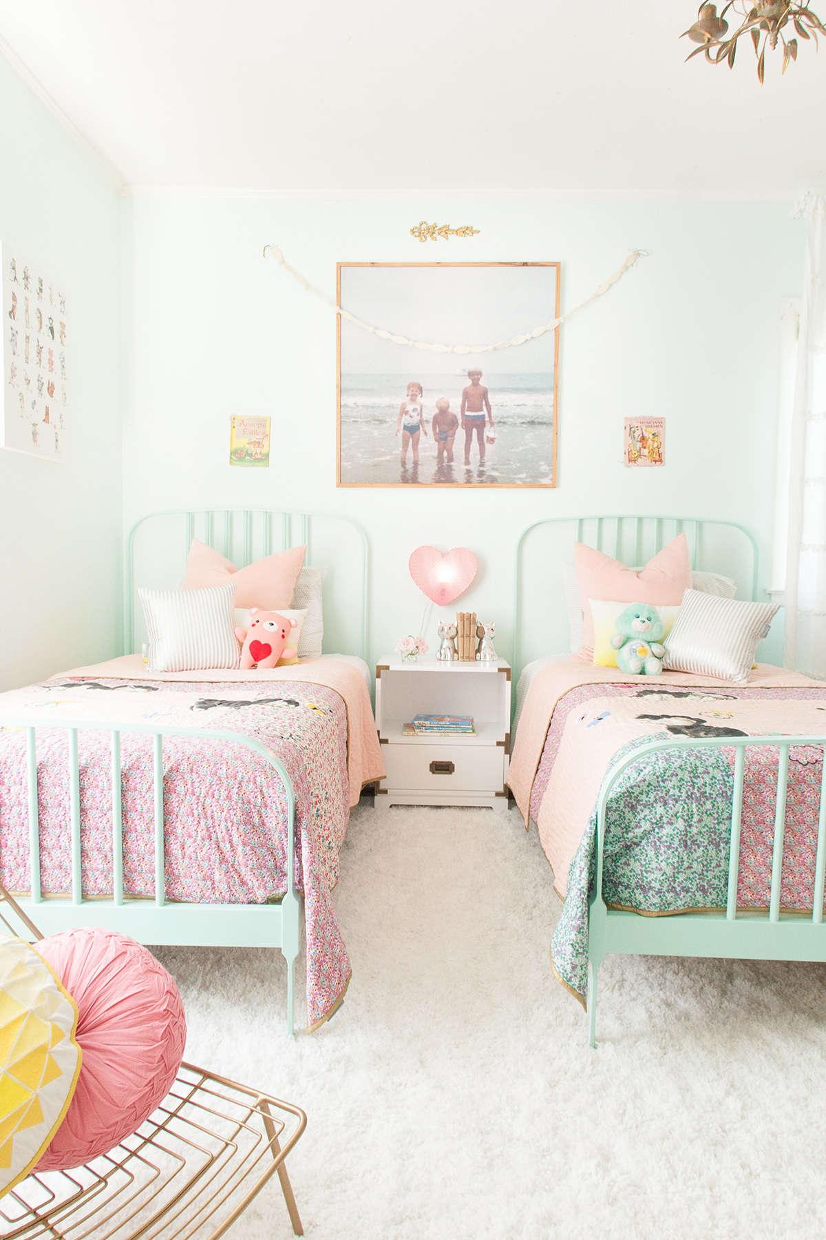 amenager petite chambre enfant double