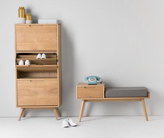 armoire a chaussure bois pratique