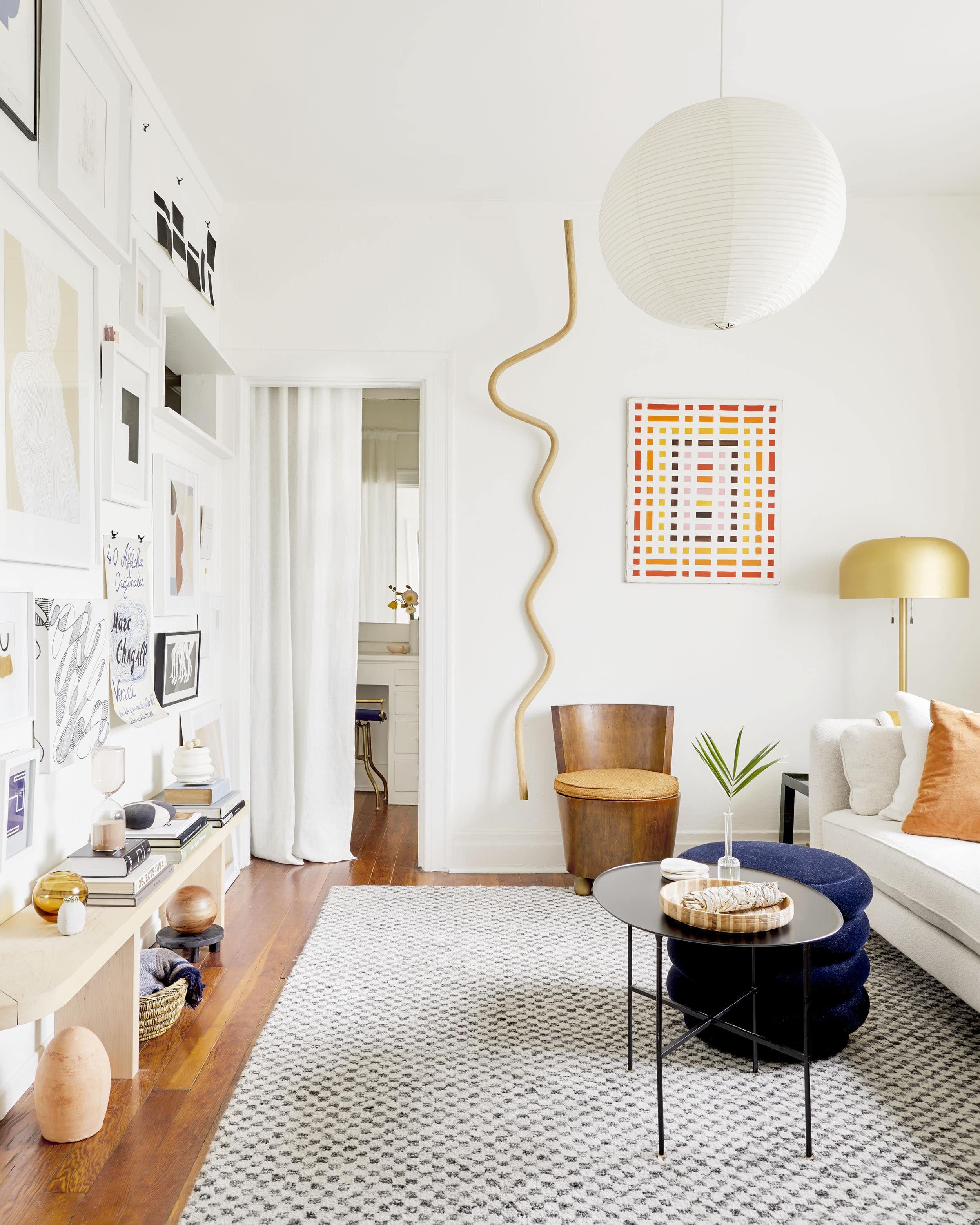 couleur petite piece blanc agrandir espace