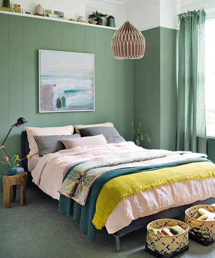 couleur petite piece chambre idee peinture