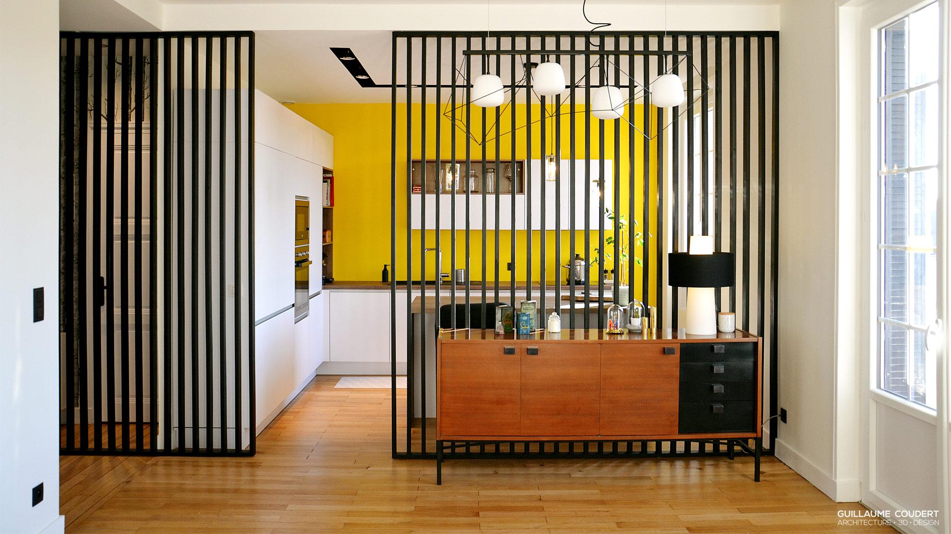 cuisine claustra design architecte interieur
