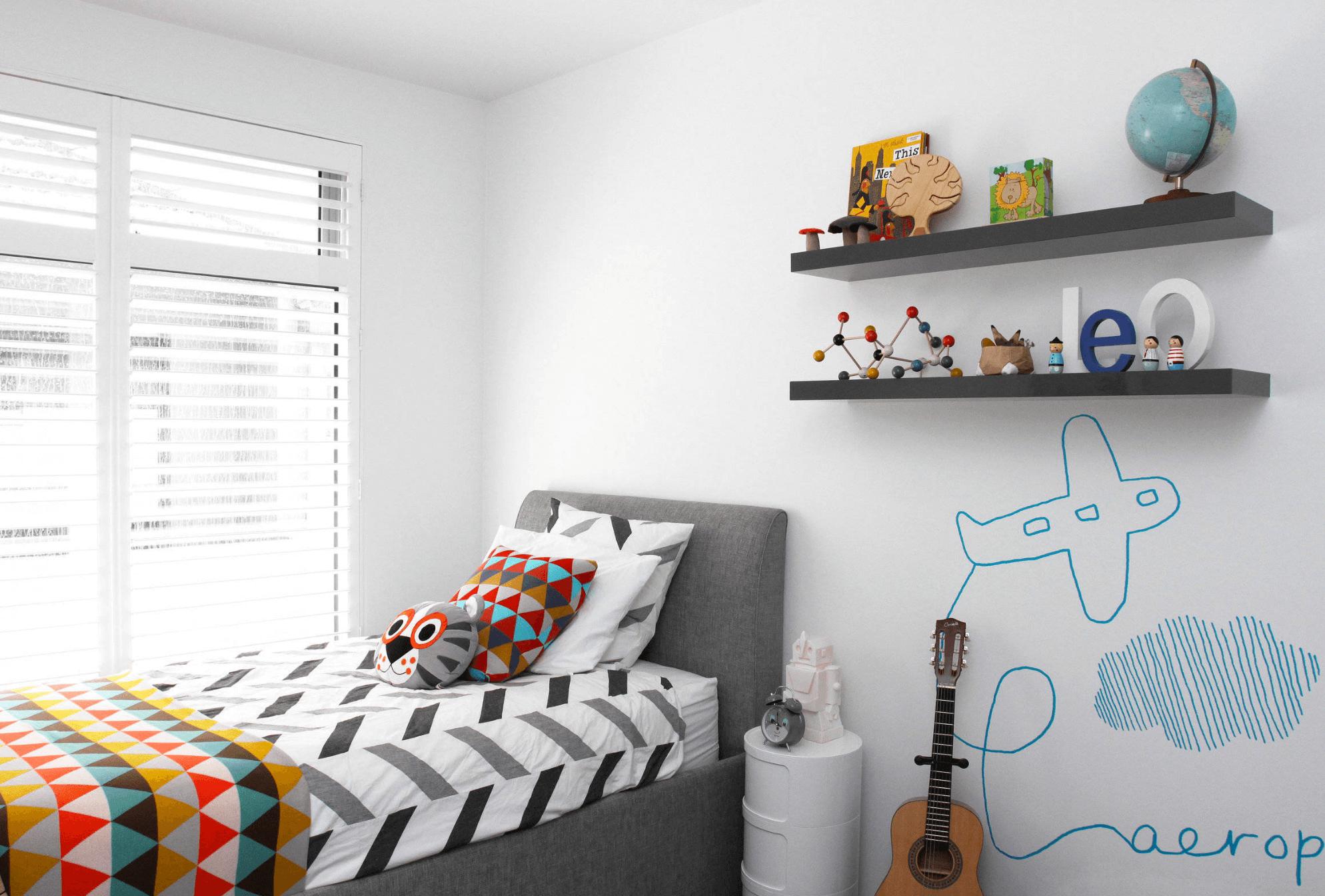 decorer petite chambre enfant garcon