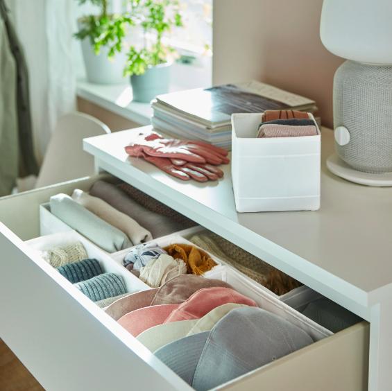 slow deco chambre rangement tiroir minimaliste