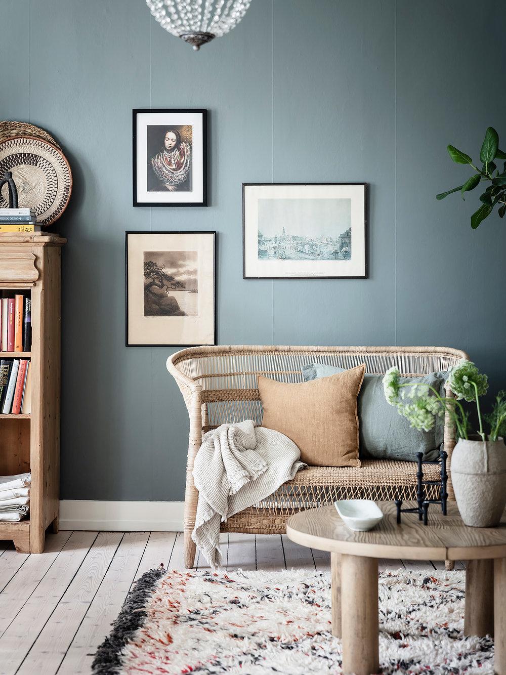 slow deco salon mobilier materiaux naturel