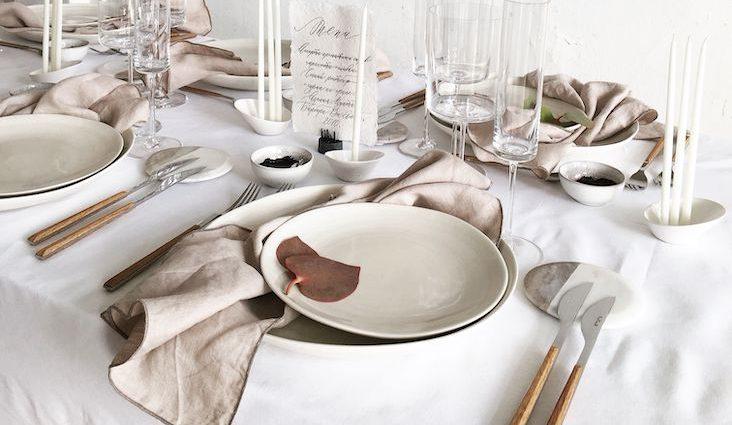 slow deco vaisselle minimaliste