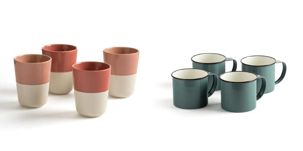 slow deco vaisselle minimaliste tasse mug