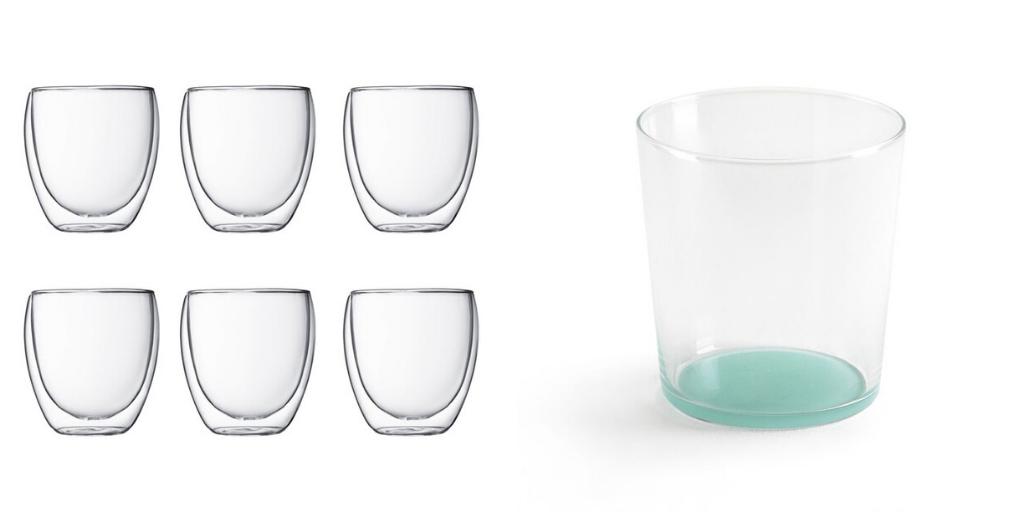 slow deco vaisselle minimaliste verres