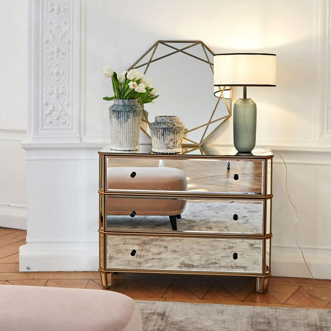 style modern glam lampe a poser elegante