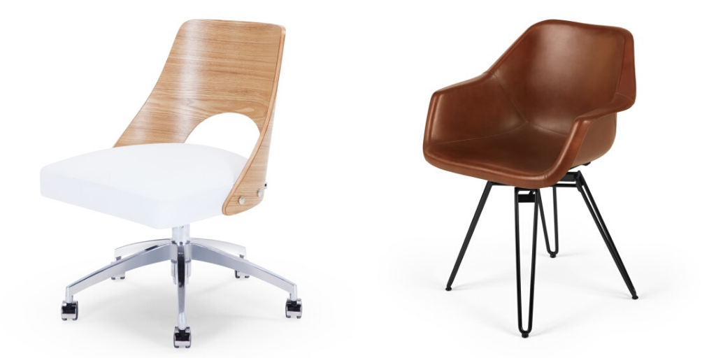 teletravail chaise bureau design
