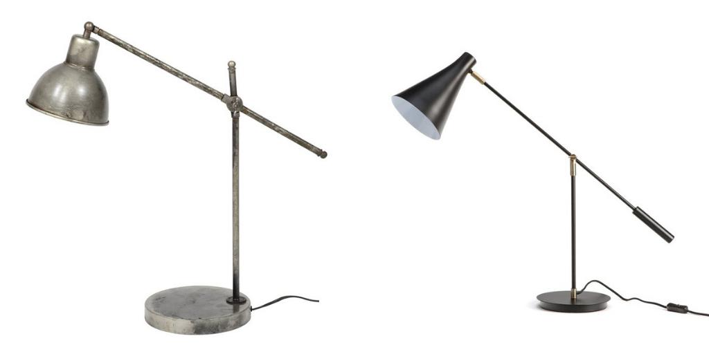 travailler maison bureau lampe