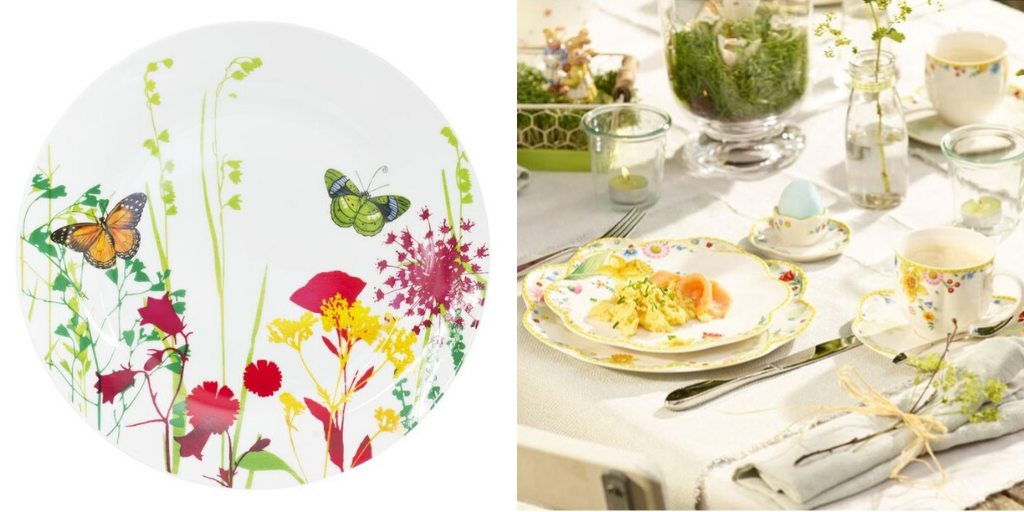 art de la table printemps vaisselle fleur