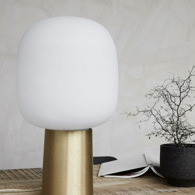 decoration petite entree lampe a poser