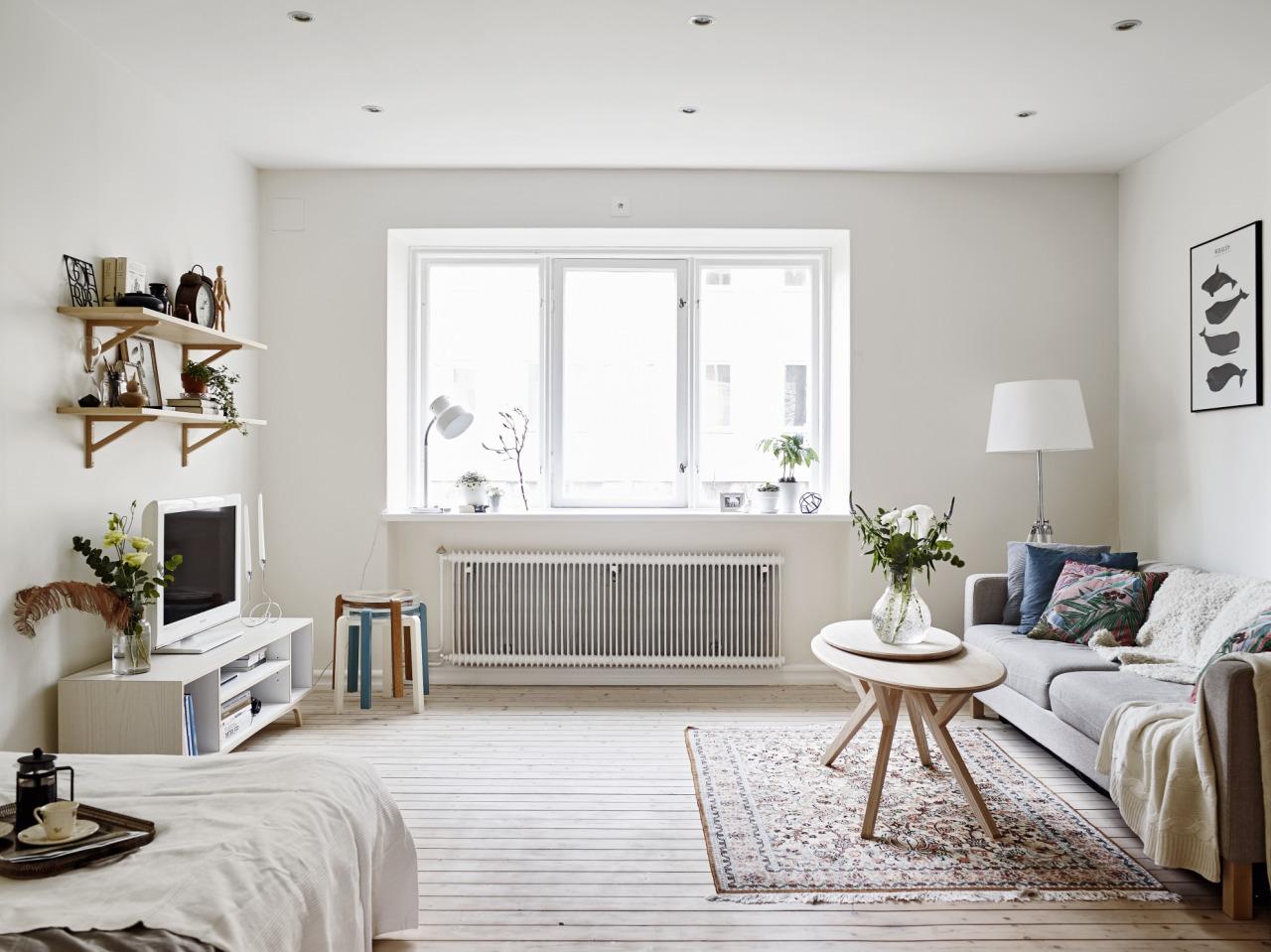 eclairage salon petit studio