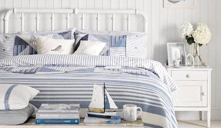 idee deco chambre ambiance bord de mer