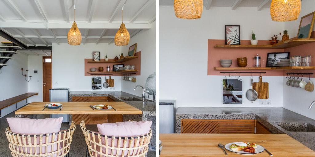 inspiration deco cuisine bali confort couleur terracotta
