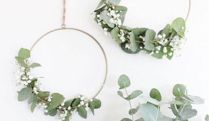 ou acheter couronne fleur sechee decoration