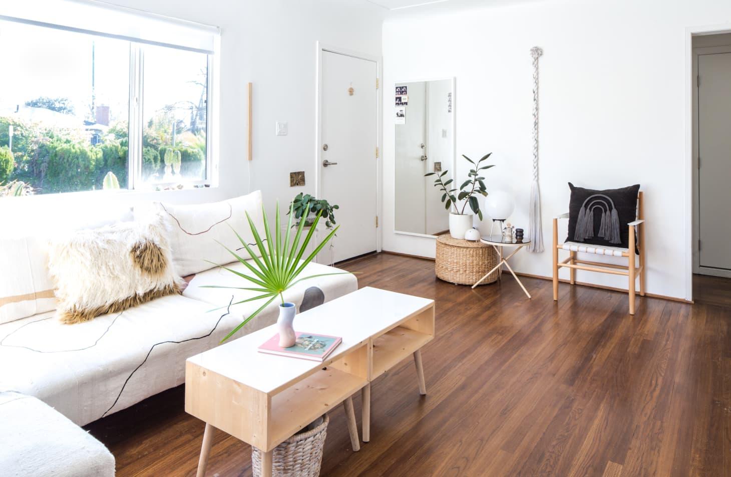 slow deco salon materiaux chaleureux et minimalistes