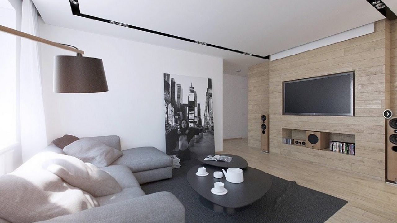 slow deco salon rangement meuble tele minimaliste