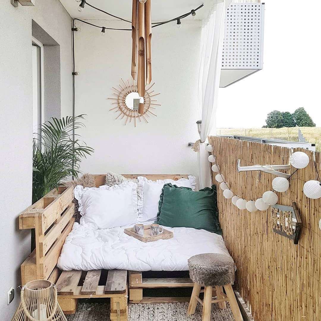 balcon deco estrade palette