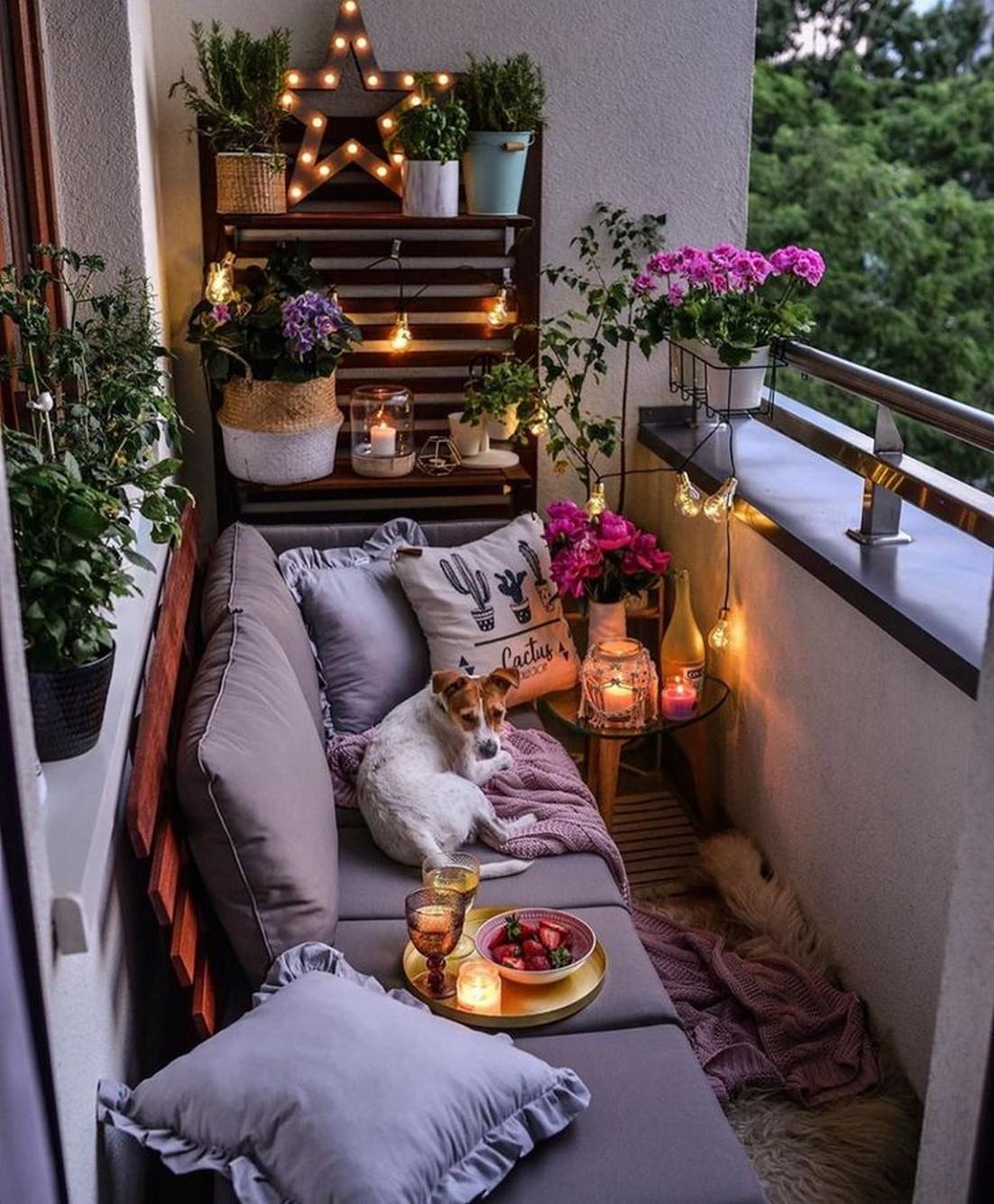 balcon deco mobilier canape
