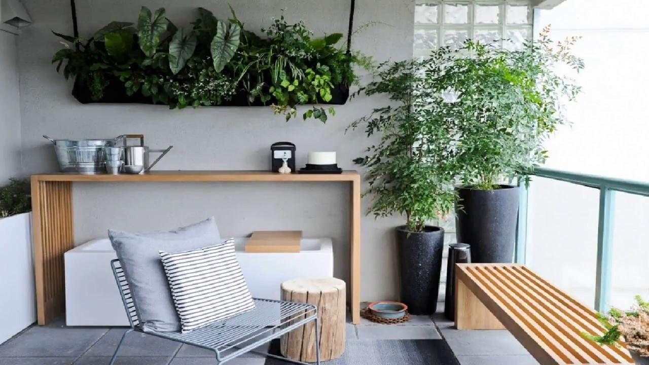 balcon deco mobilier contemporain