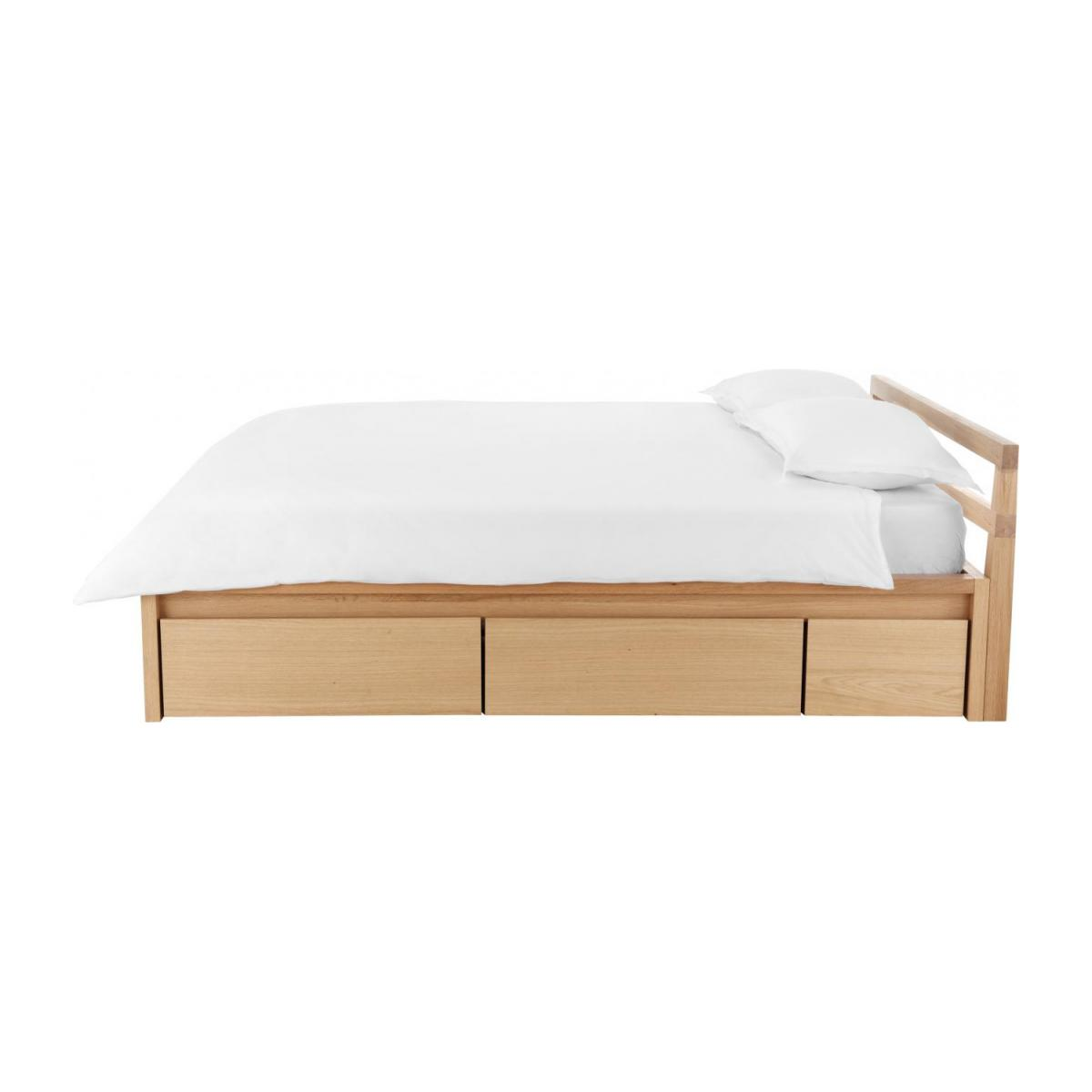 chambre ado gain de place lit tiroir en chene