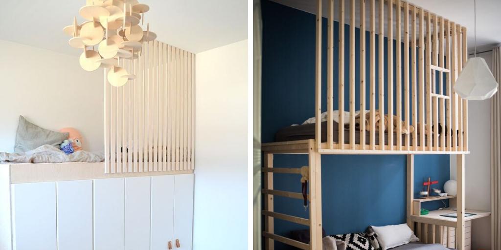 claustra chambre enfant idee decoration