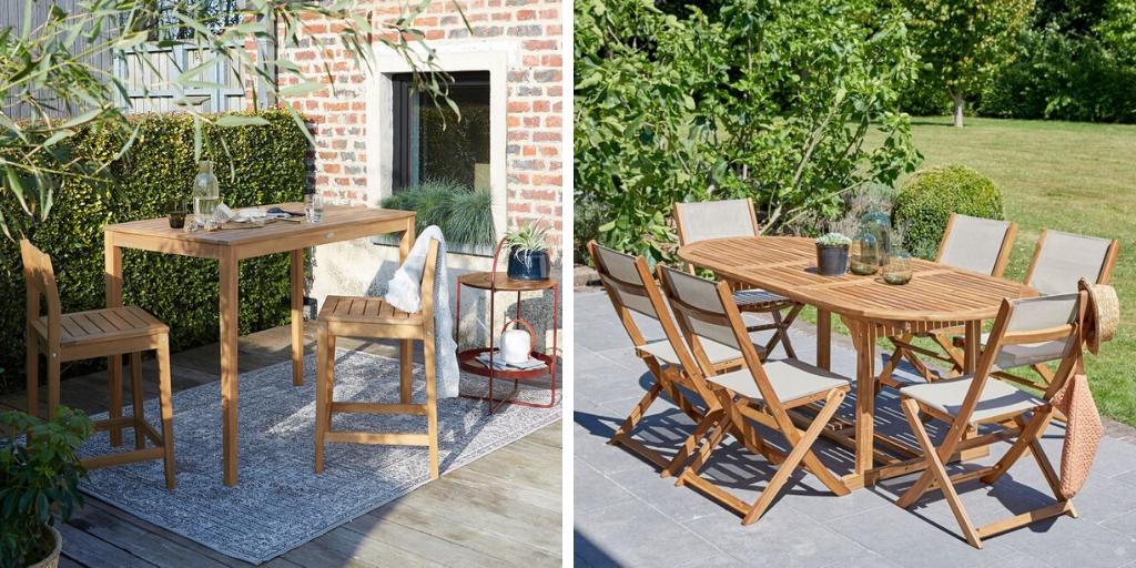 dossier jardin table en bois