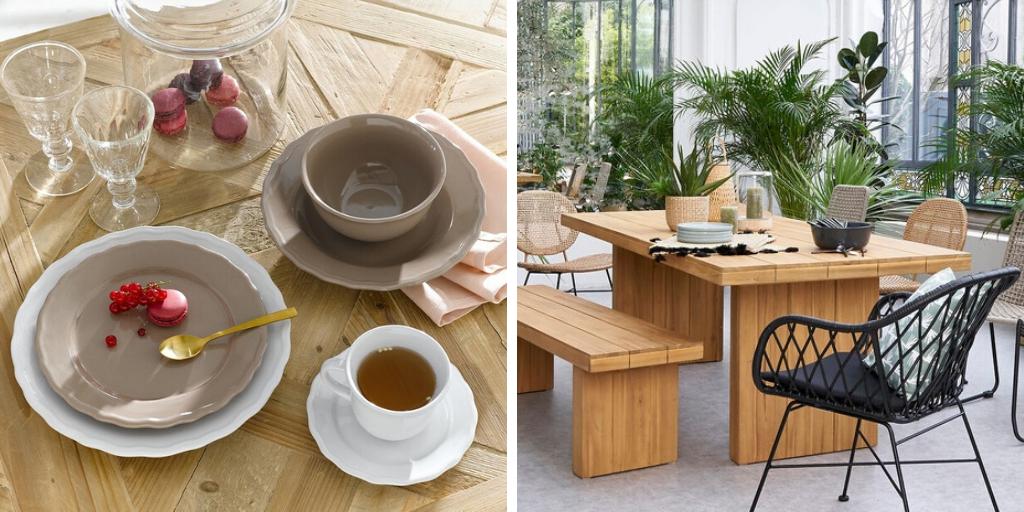 dossier salle a manger decoration table vaisselle