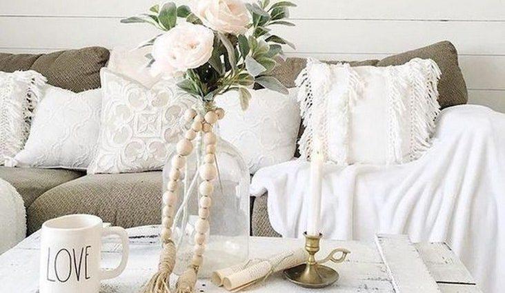idee decoration salon fleur
