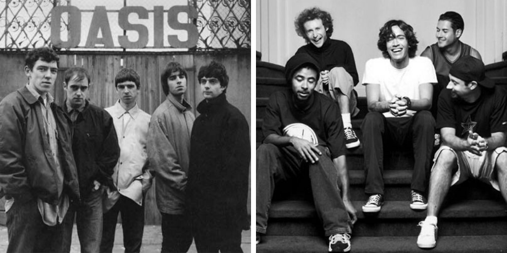 lifestyle musique oasis incubus