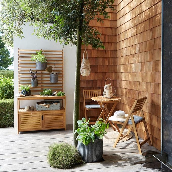 ou trouver salon de jardin balcon bois