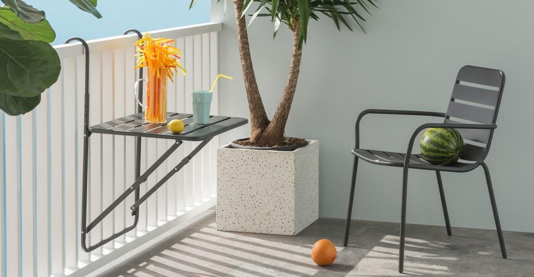 ou trouver salon jardin balcon table murale