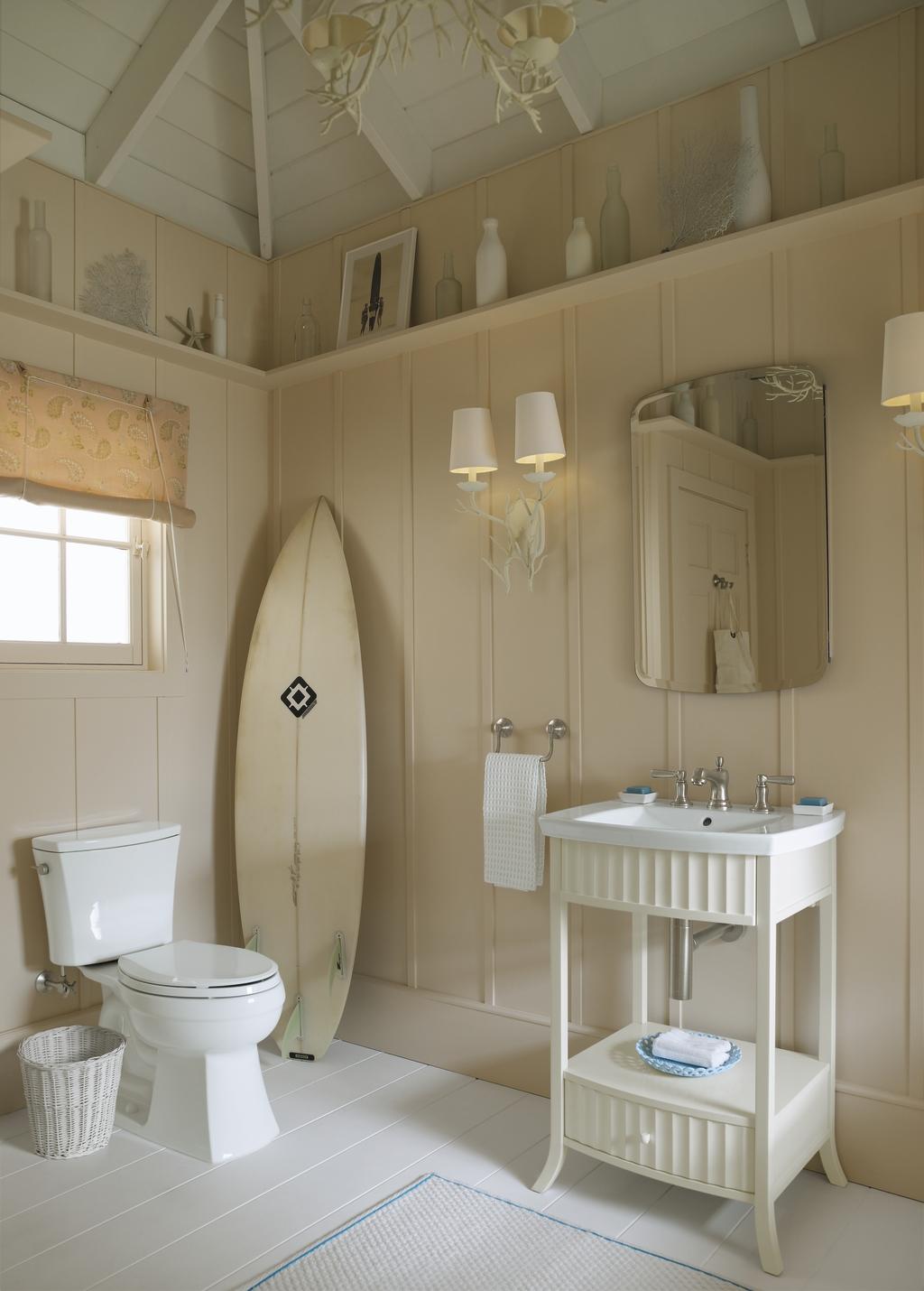 salle de bain bord de mer deco plage