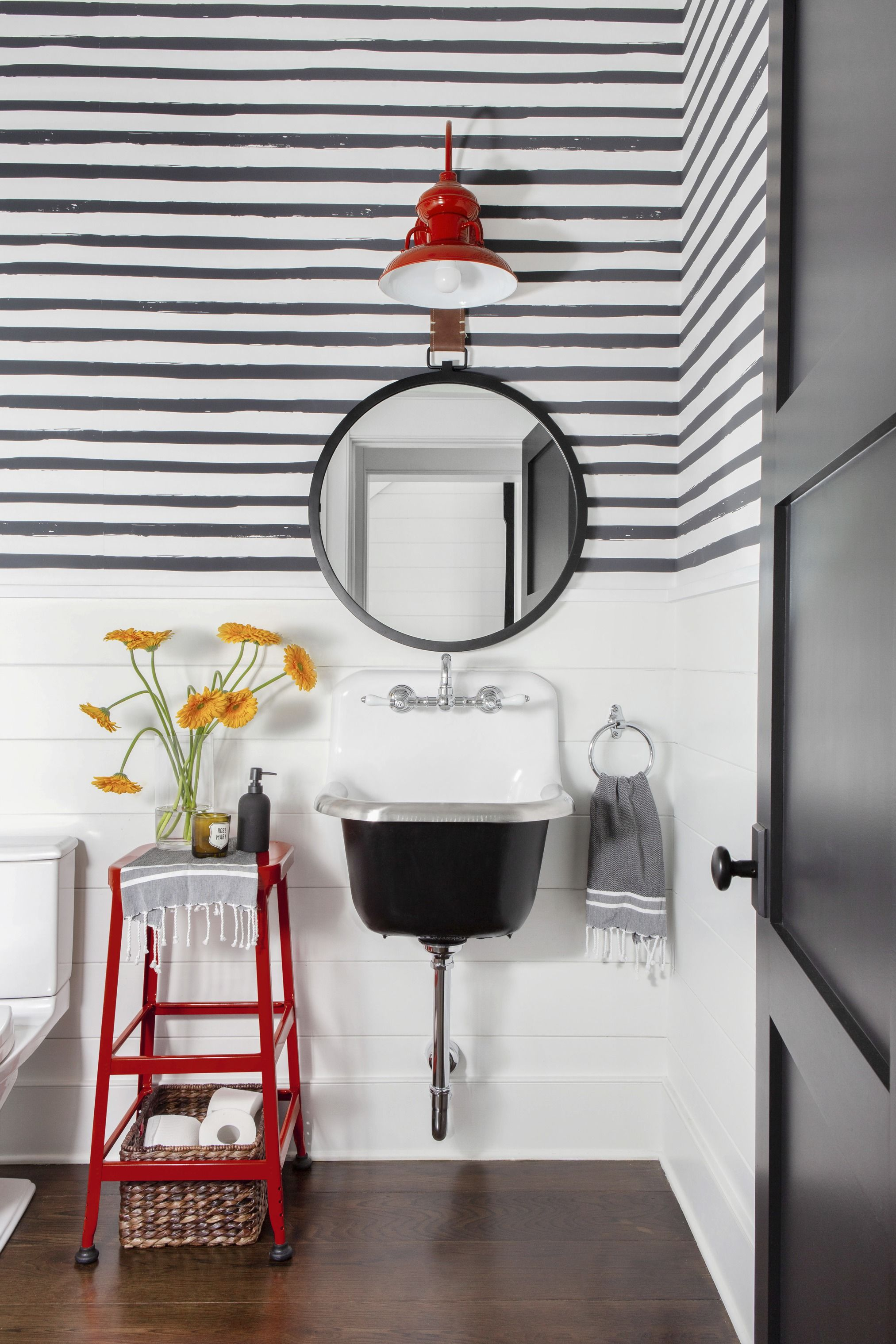 salle de bain bord de mer idee deco tendance moderne