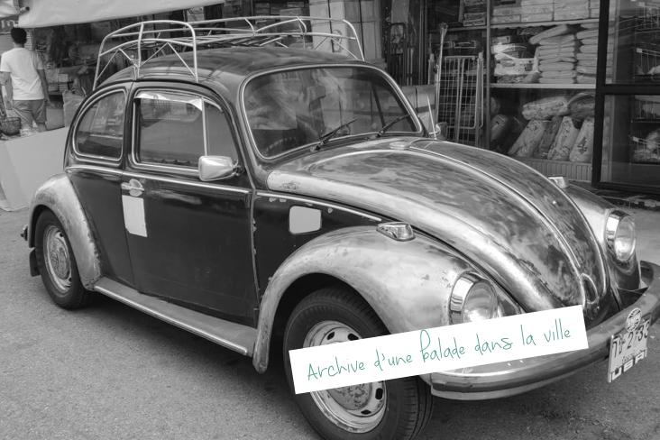 thailande kanchanaburi vieille voiture promenade