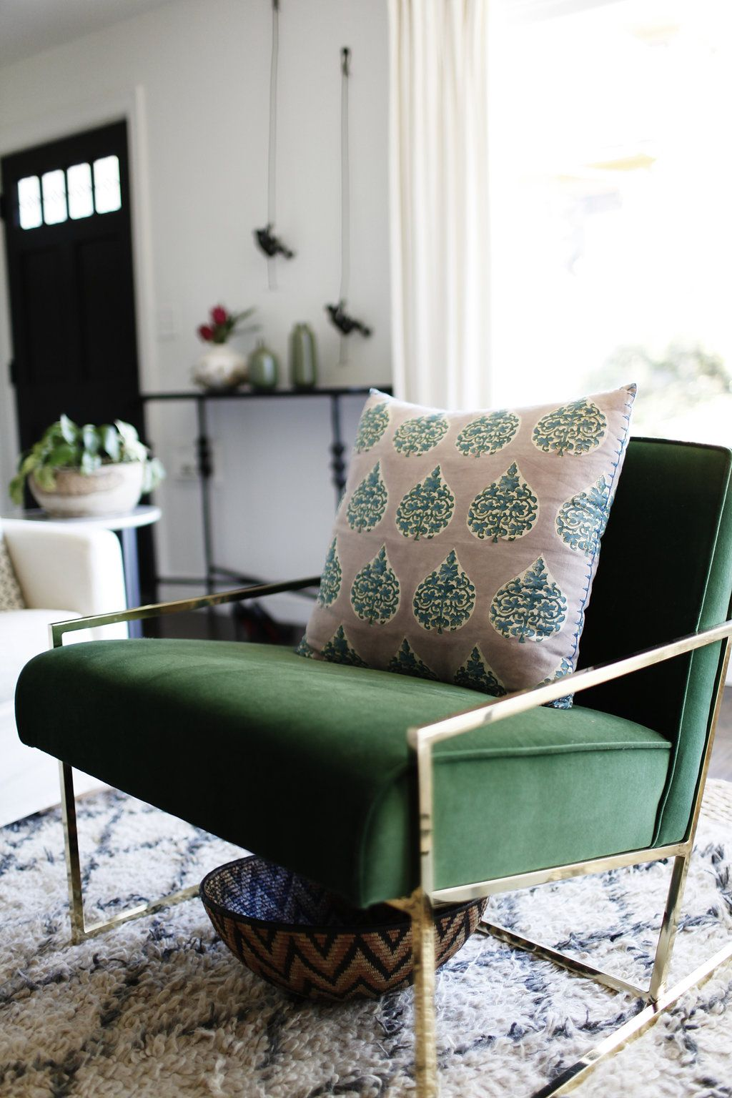 velours deco fauteuil inspiration ambiance