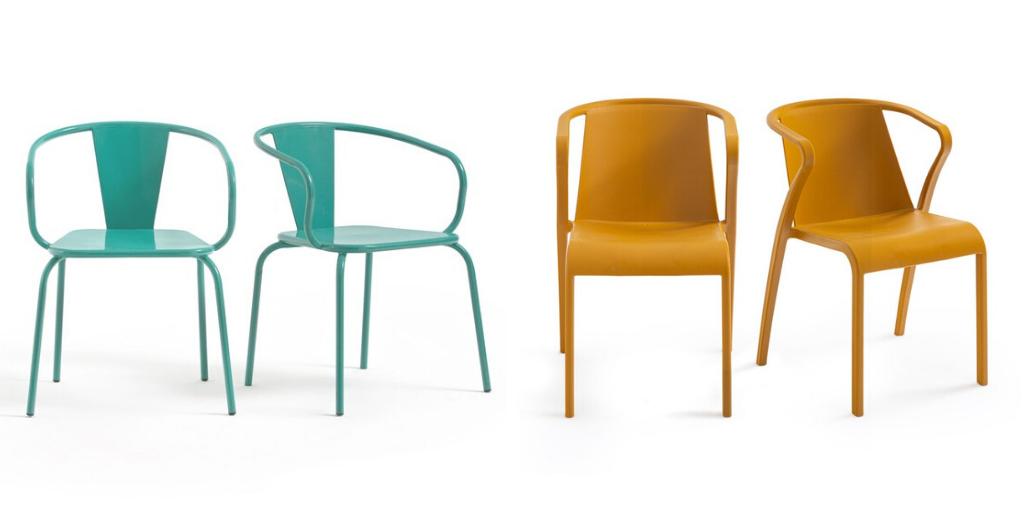 ambiance jardin colore chaises exterieures couleur