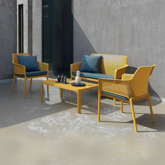 ambiance jardin colore salon jaune