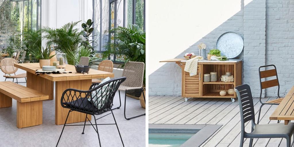 ambiance jardin naturel mobilier bois pratique
