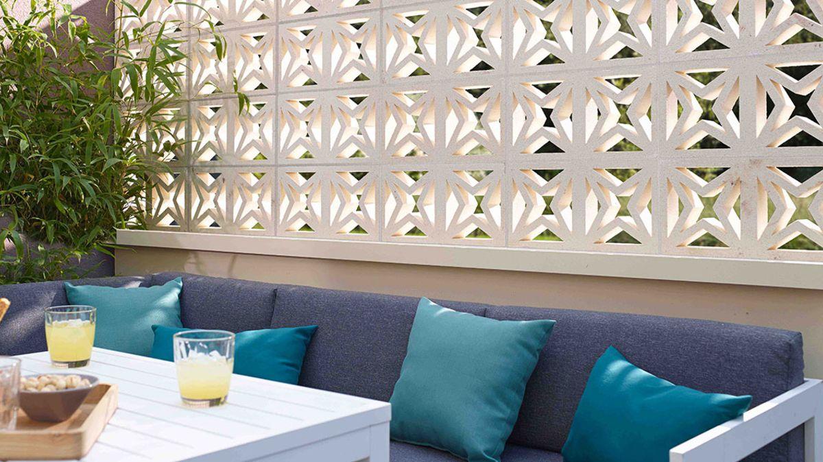 claustra balcon terrasse beton
