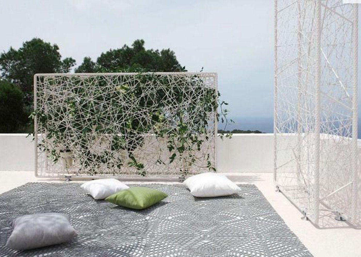 claustra deco balcon terrasse plantes grimpantes