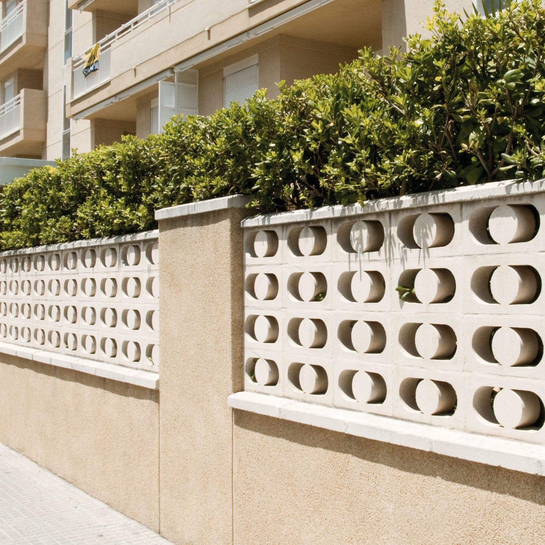 claustra deco jardin beton