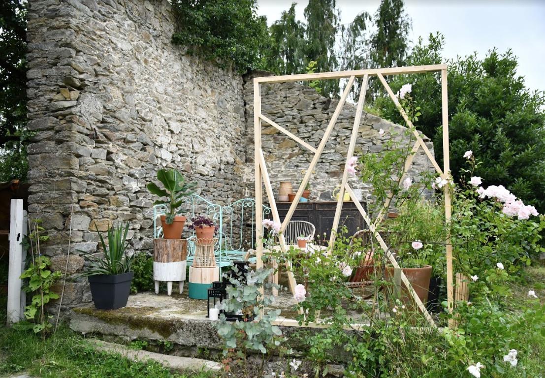 claustra deco jardin original