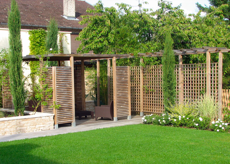 claustra deco jardin structurer grand espace