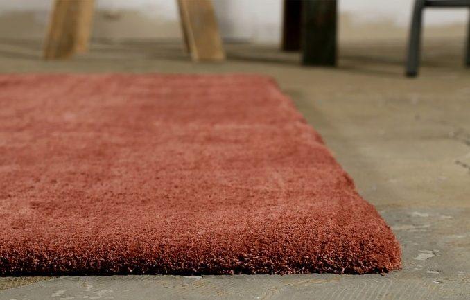 couleur terracotta chambre tapis