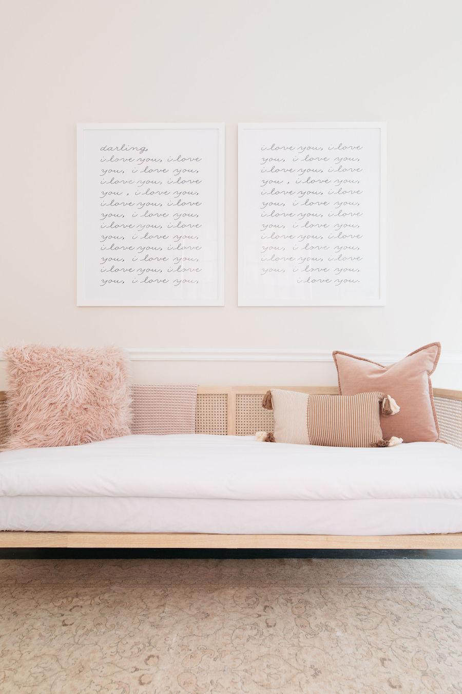 deco salon modern glam simple et minimaliste