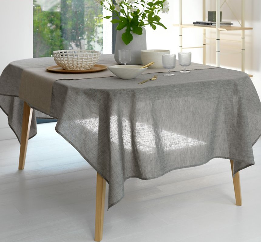 lin made in france nappe de table