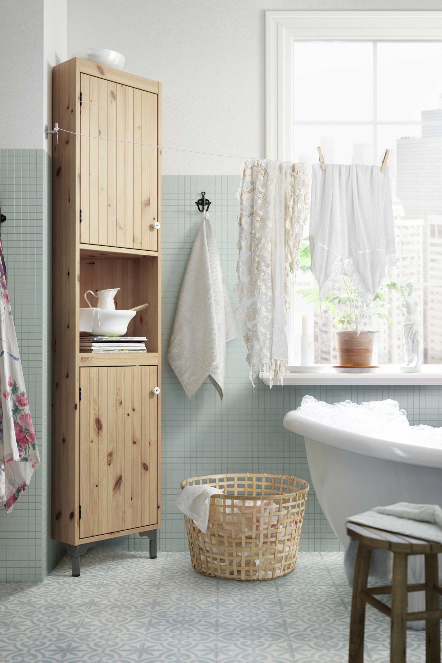 meuble angle colonne salle de bain